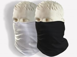 USA MADE - Gaiter Bandanna/ Neck Tube / Face Cover - 97% Ring Spun Polyester 3% Spandex